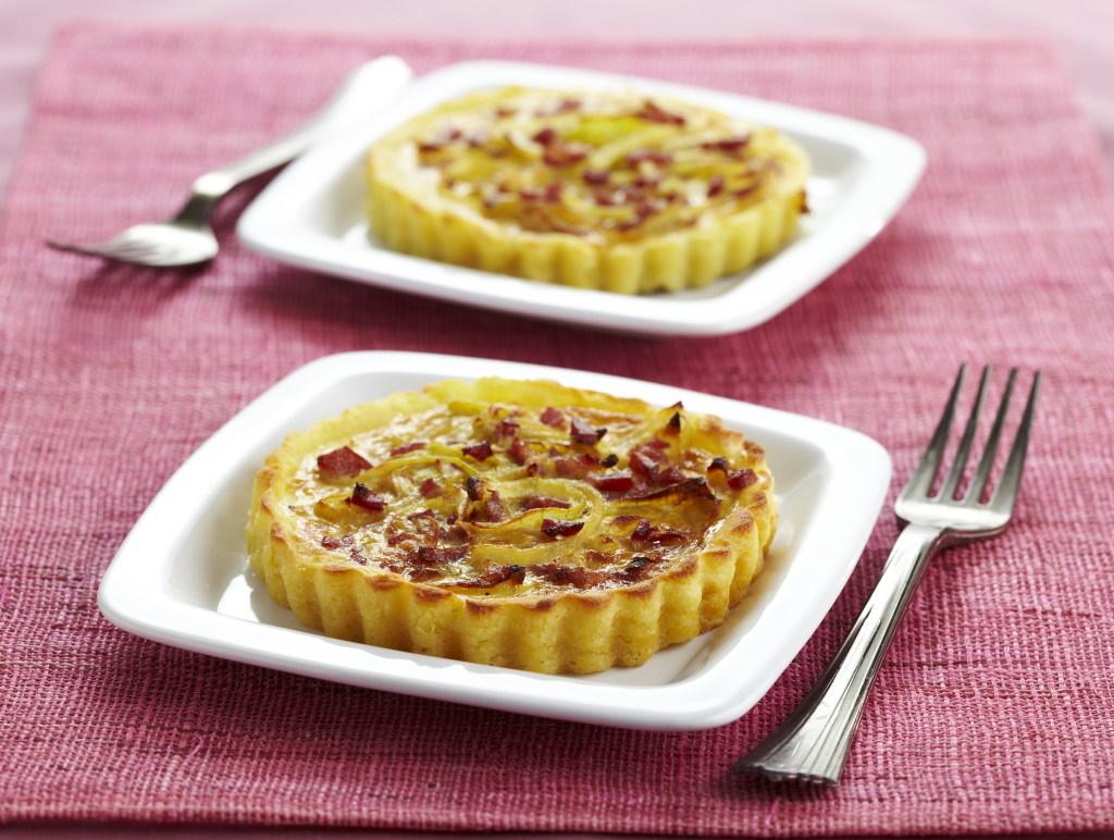 Tartelettes oignon / bacon